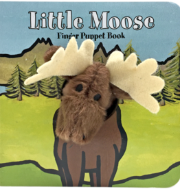 Chronicle Books Finger Puppet Book: littleMoose