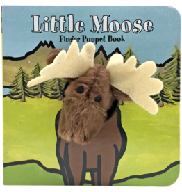 Chronicle Books Finger Puppet Book: Little Moose
