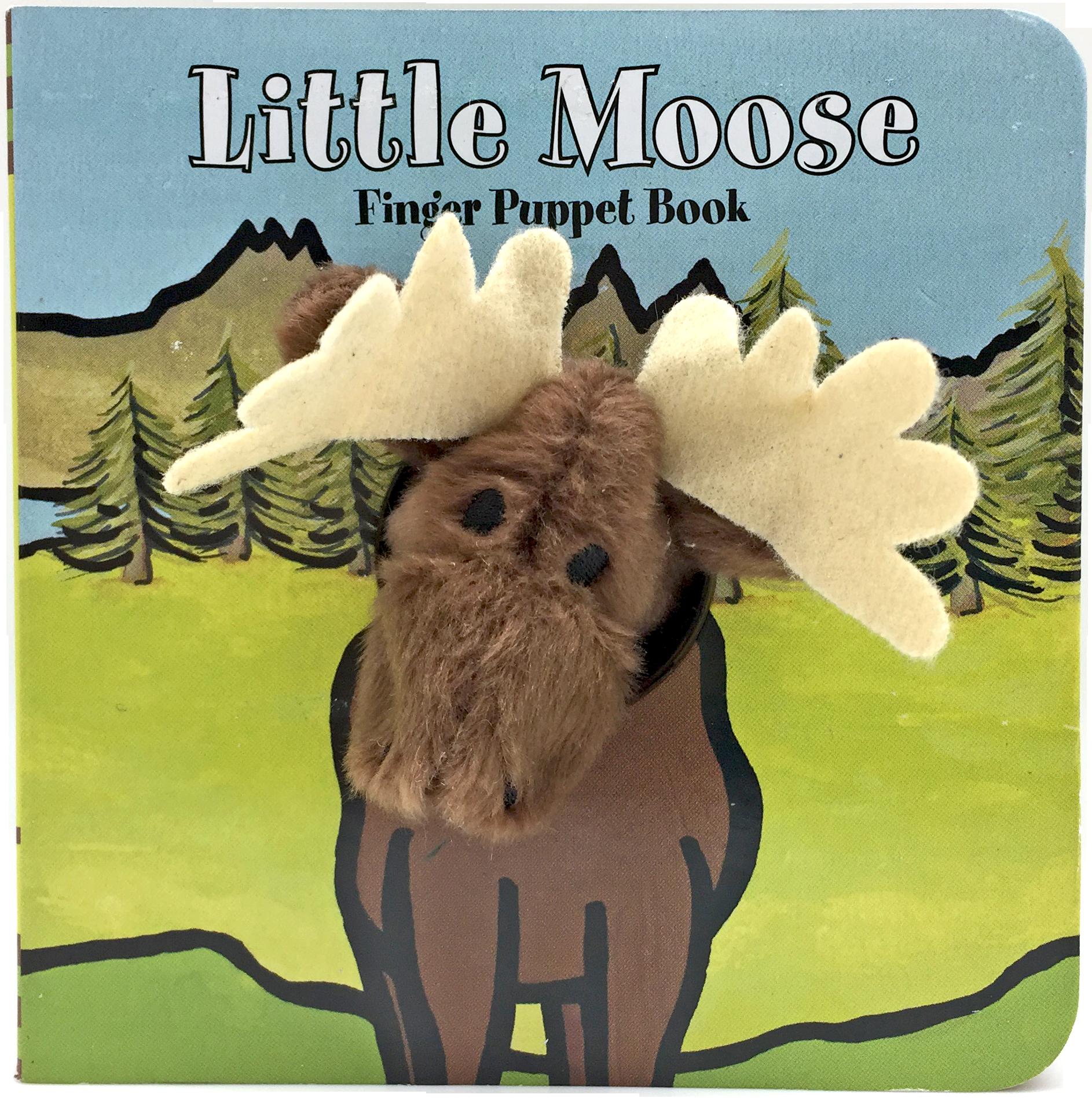 Chronicle Books Finger Puppet Book: littleMoose
