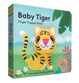 Chronicle Books Finger Puppet Book: Baby Tiger