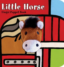 Chronicle Books Finger Puppet Book: littleHorse