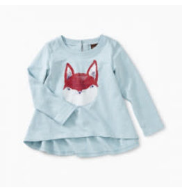 Tea Collection Friendly Fox Graphic Tee 6-9M