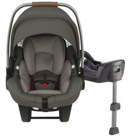 Nuna Infant Nuna Pipa Flame Retardant Free Car Seat & Base, Size One Size - Granite