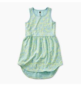 Tea Collection Printed Skirted Tank Dress - Pop Lotus