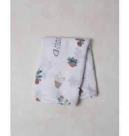 Little Unicorn Cotton Swaddle - Prickle Pots