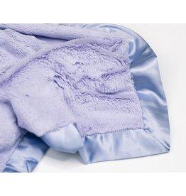 """Saranoni Mini Blanket (15"""" x 20"""") Lavender Lush Satin Border"""