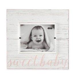 Mud Pie Pink Sweet Baby Hanger Frame