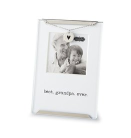 Mud Pie Best Grandpa Ever Clip Frame