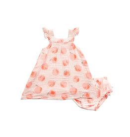Angel Dear Sundress & Bloomer, Peachy