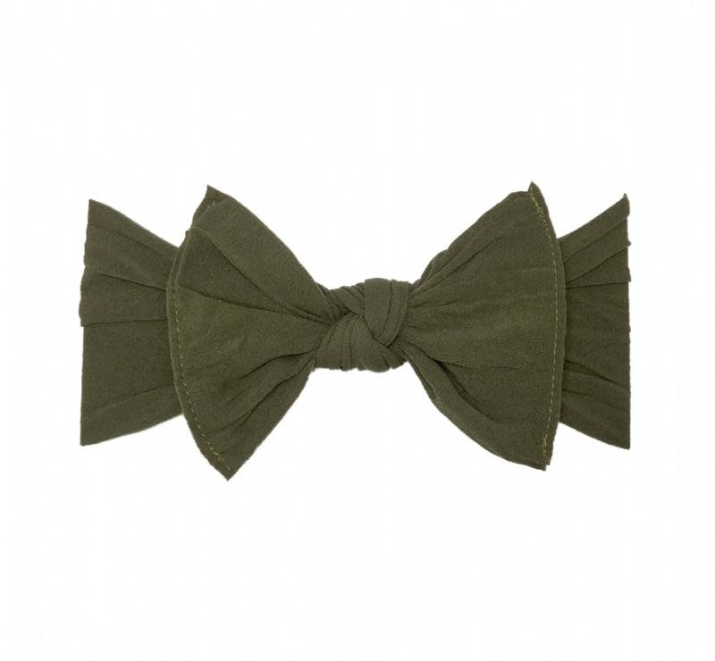 Baby Bling Bows Knot - Army Green