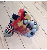 Mud Pie Big Boy Socks & Puppy Teether