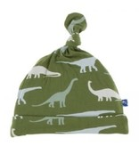 Kickee Pants Basic Knot Hat Moss Sauropods