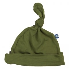 Kickee Pants Basic Knot Hat Moss 3-12M