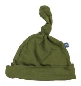 Kickee Pants Basic Knot Hat Moss NB-3M
