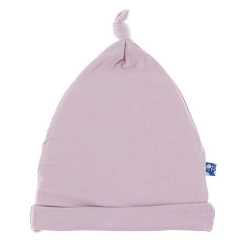 Kickee Pants Solid Knot Hat Sweet Pea NB-3M