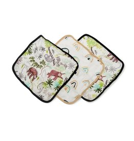 Lou Lou Lollipop Washcloth 3-pieces Set - Sloth