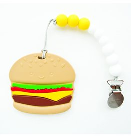 Lou Lou Lollipop Silicone Teether Set - Burger