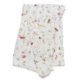 Lou Lou Lollipop Bamboo Swaddle - Woodland Gnome