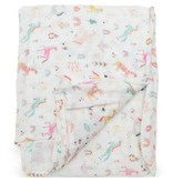 Lou Lou Lollipop Bamboo Swaddle - Unicorn Dream