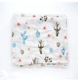 Lou Lou Lollipop Bamboo Swaddle - Cactus Floral