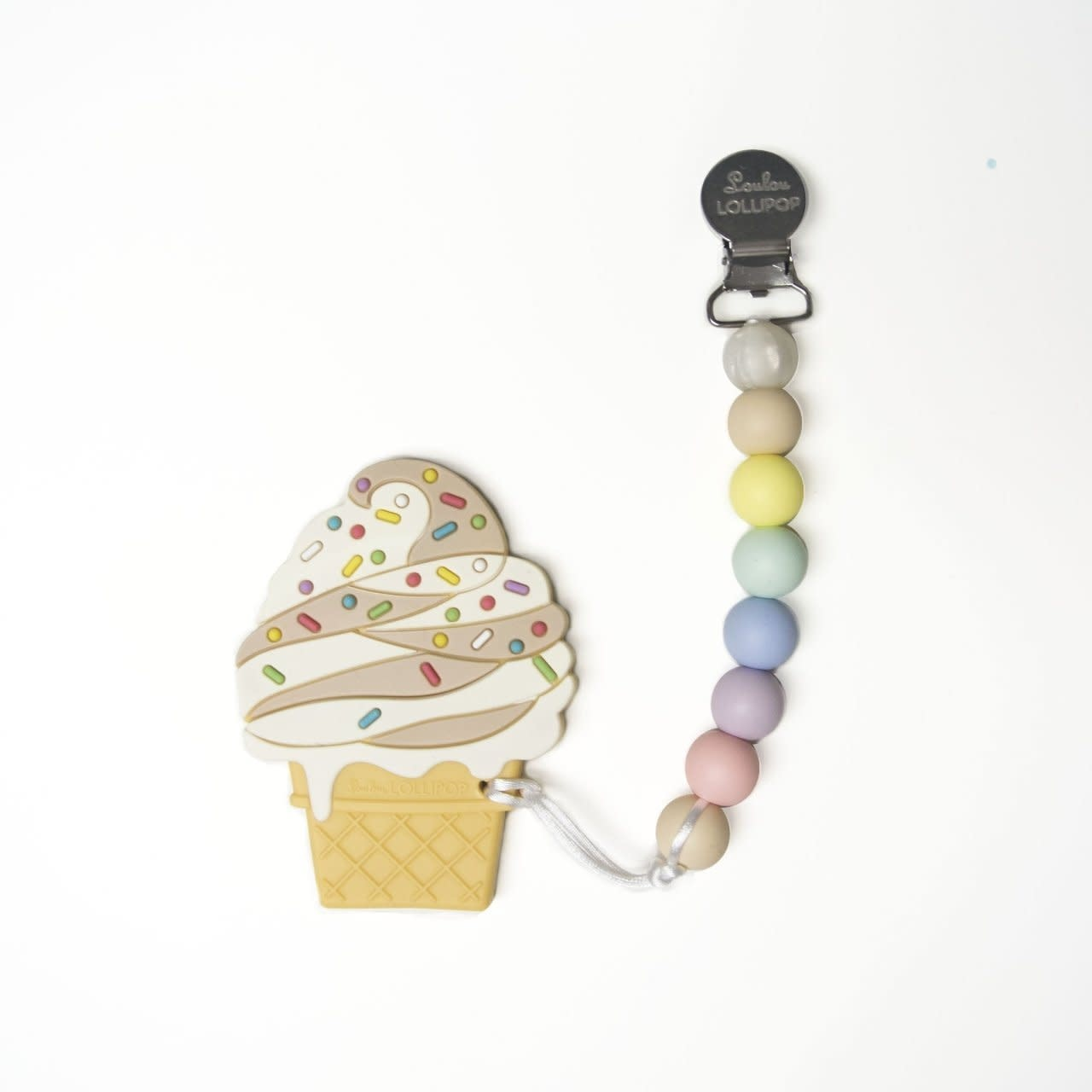 Lou Lou Lollipop Chocolate Ice Cream Teether Set