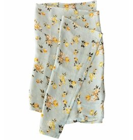 Lou Lou Lollipop Bamboo Swaddle - Wild Rose