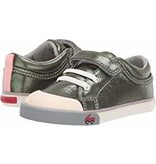 See Kai Run Toddler Girl's Kristin Shoe - Olive Shimmer