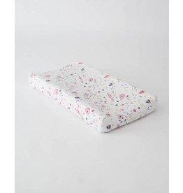 Little Unicorn Cotton Muslin Changing Pad Cover - Fairy Garden