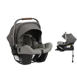 Nuna Nuna 2019 Pipa Lite Brown Handle (FR Free) Car Seat with Base