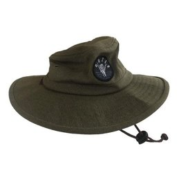 Millymook and Dozer Boys Bucket Hat - Clay Green L (5+Y)