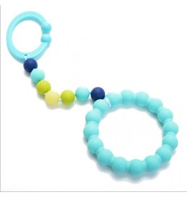 Chewbeads Gramercy Stroller Toy, Turquoise