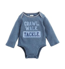 Mud Pie Football Tackle Crawler 0-6M