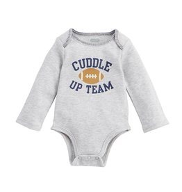 Mud Pie Football Cuddle Up Crawler 0-6M
