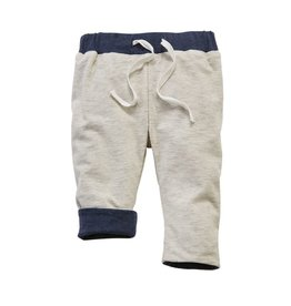 Mud Pie Gray Reversible Pant 3-6M