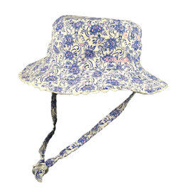 Millymook and Dozer Baby Girls Bucket Hat - Kaya Blue