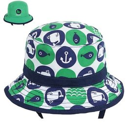 Millymook and Dozer Baby Boys Bucket Hat - Whaley L (12-24m)