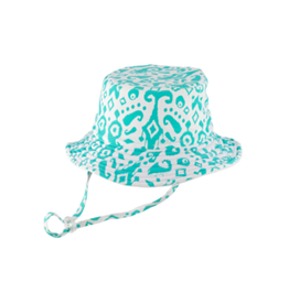 Millymook and Dozer Girls Bucket Hat - Fiona Aqua Blue S (2-5y)
