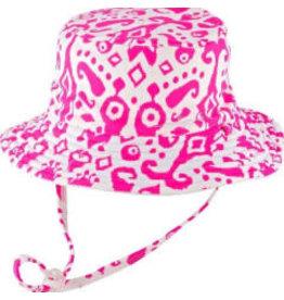 Millymook and Dozer Girls Bucket Hat - Fiona Pink S (2-5y)