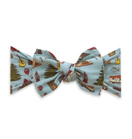 Baby Bling Bows Printed Knot - Goin Campin