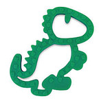 Itzy Ritzy Silicone Baby Teether, Dino Teether