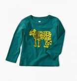 Tea Collection Liger Graphic Baby Tee - Scuba
