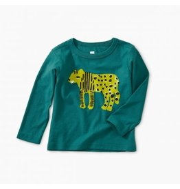 Tea Collection Baby Boy Liger Graphic Tee - Scuba