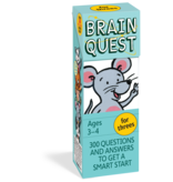 Workman Publishing Brain Quest: Ages 3-4 For Threes