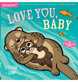 Workman Publishing Indestructibles: Love You, Baby