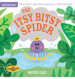 Workman Publishing Indestructibles: Itsy Bitsy Spider