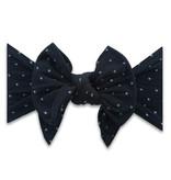 Baby Bling Bows Dang Enormous Bow: Black Dot