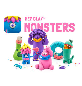 Fat Brain Hey Clay MONSTERS