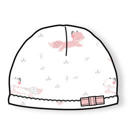 Angel Dear Baby Fox - Pink Beanie Hat
