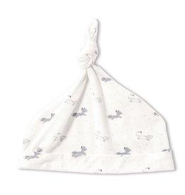 Angel Dear Baby Fox - Grey Knotted Hat