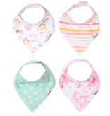 Copper Pearl Bibs - Enchanted Set - 4 pack